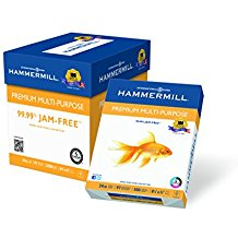 Hammermill Premium Multipurpose Paper,8.5x11In,24lb,97 Bright,2500ct