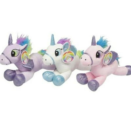 DDI 2328351 Unicorn Plush Pillow, Assorted Color - Case of 30 - Wholesale Plush Toys