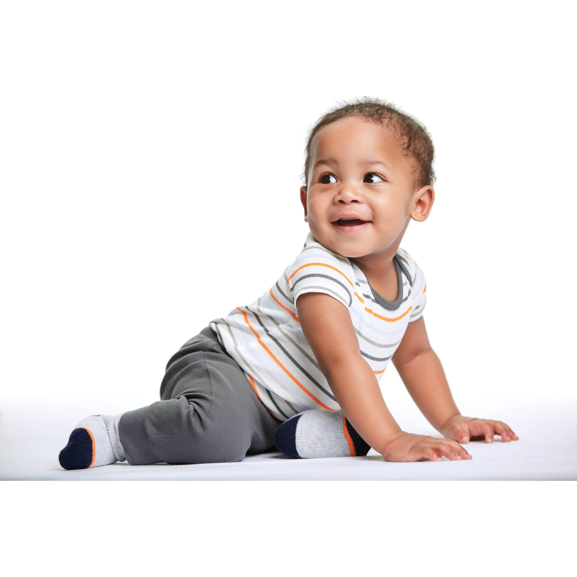 Pen Ear Buds in Pocket1 Baby Newborn Crawling Suit Sleeveless Onesie Romper Jumpsuit Black Glasses
