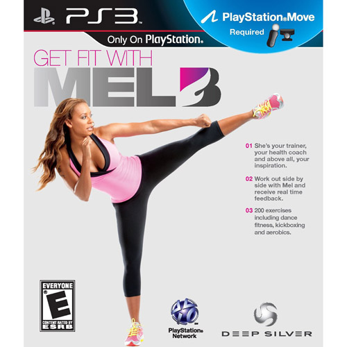 Get Fit With Mel B, Sony Computer Ent. of America, PlayStation 3, 711719018827