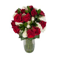 Bloomingmore Fresh Flowers Deluxe Hold Me Closer Rose Bouquet 30 stems