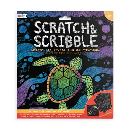 Scribble Art (Ooly - Scratch & Scribble Art Kit - Ocean)