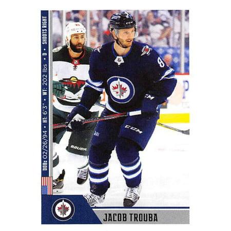 2018-19 Panini NHL Stickers #498 Jacob Trouba Winnipeg Jets Hockey Card - Jacobs Trading