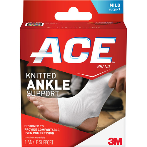 ACE Knitted Ankle Support, L, 207302