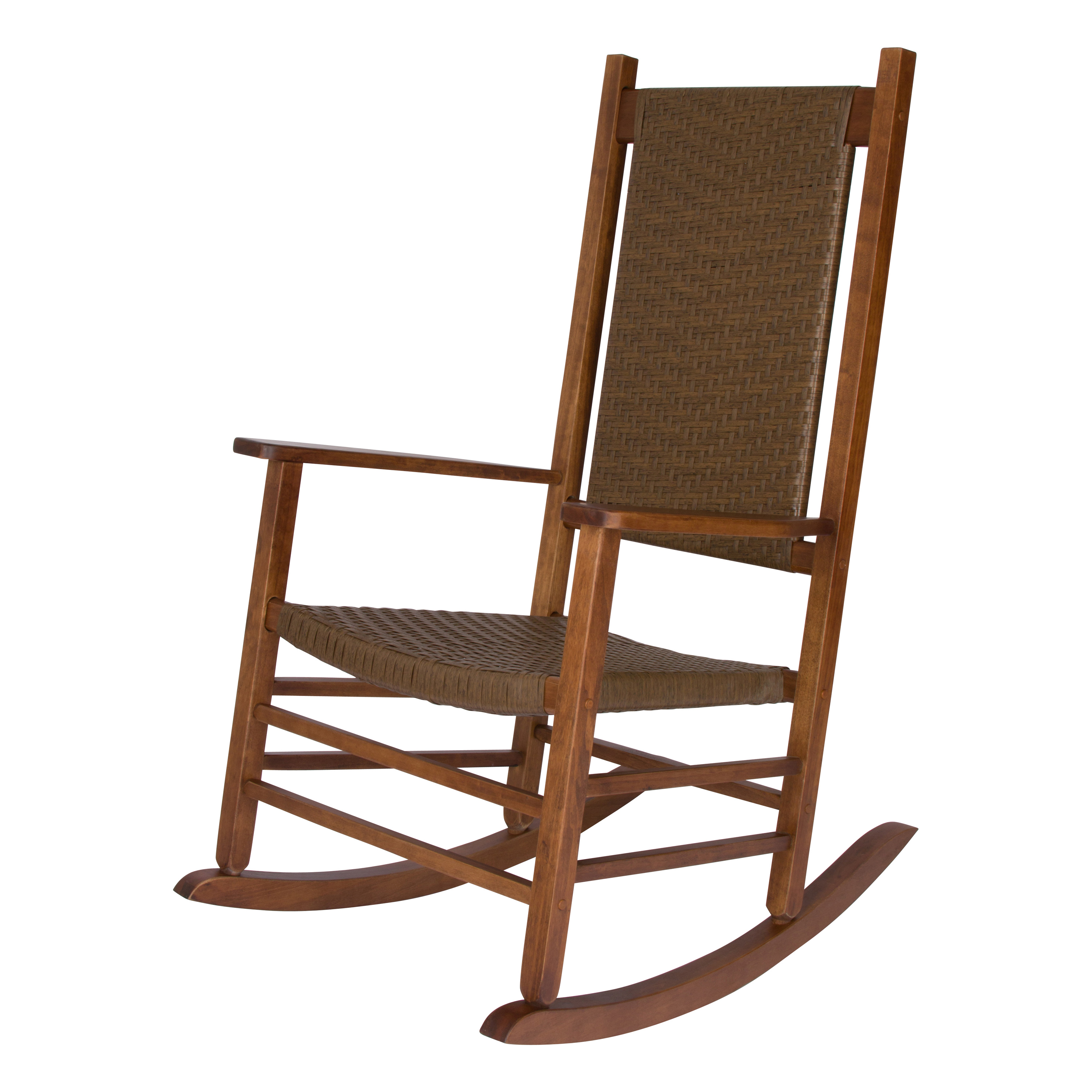 Shine Company Hampton Porch Rocker - Oak