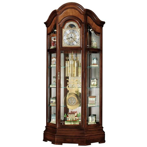 Howard Miller Majestic Curio Grandfather Clock Walmart Com