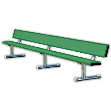 Ssg Bsn Powder Coated Portable Player Benches Green Length