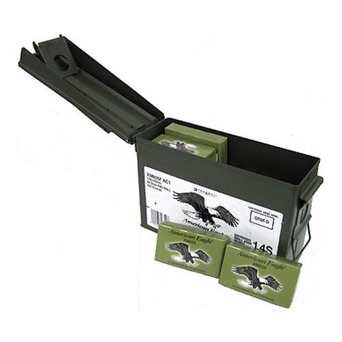 93385 Federal Cartridge 5.56mm 62gr SC FMJ Ammo Can/420