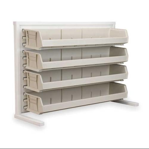 AKRO-MILS 98536320SS Louvered Bench Rack, 37-3/4x12x26-3/8 In