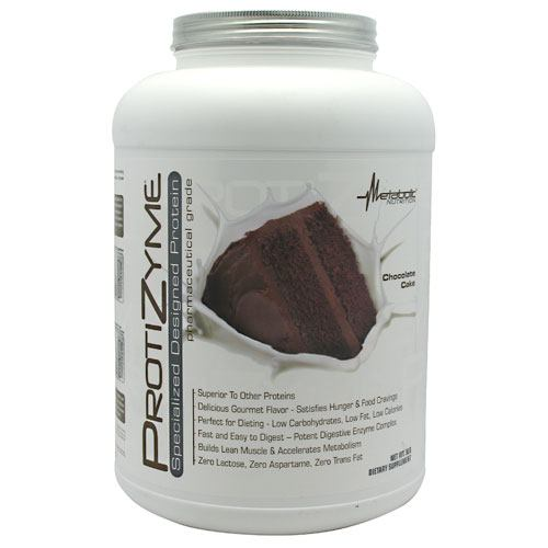 Metabolic Nutrition Protizyme - Chocolate Cake - 5 lb - (...