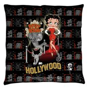 Betty Boop Hollywood Nights Throw Pillow White 20X20