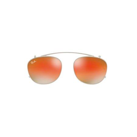 8a33d866665 Ray-Ban 0RX6317C Phantos Unisex Eyeglasses - Size 51 (Silver) - Walmart.com
