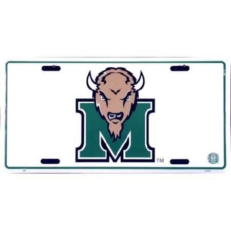 Marshall University - Marshall University embossed metal auto tag