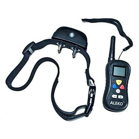 Aleko TS-TC008-UNB Water Resistant Remote Pet Training Dog Collar, 16 Levels - image 1 of 1