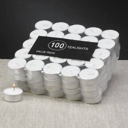 Biedermann and Sons Tealight Candles (Set of 100)