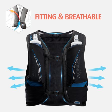 Super Lightweight Hydration Backpack Running Water Bladder Vest Climbing Marathon Cycling Hydration Bag - image 5 of 7