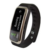 BT Smart Band w Call Alert Blk