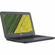 "Acer Chromebook C731T-C42N Laptop Computer, 1.60 GHz Intel Celeron, 4GB DDR3 RAM, 16GB SSD Hard Drive, Chrome, 11"" Screen (Refurbished)"