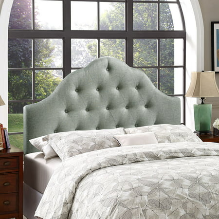 Modway Arch Headboard, King, Gray
