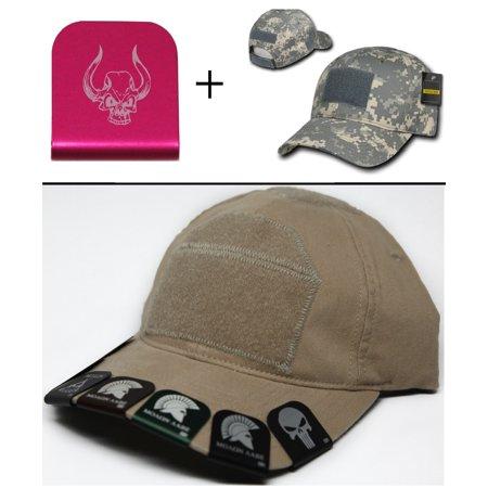 ccfb17cc034 SKULL WITH BULL HORNS Cap Crown Rim Brim-It Pink + ACU Digital Hat -  Walmart.com