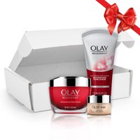 Deals on Olay Anti Aging Skincare Kit Cleanser Moisturizer and Eye Cream