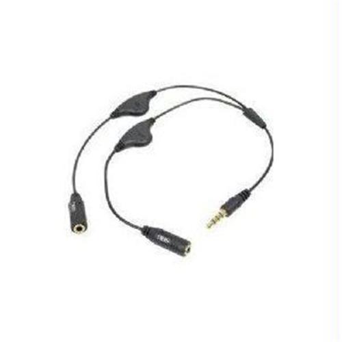 Siig AC-EP0312-S1 Smart Headphone Splitter