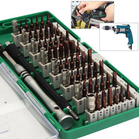 60 in 1 S2 Tool Steel Precision Screwdriver Nutdriver Bit Repair Tools Kit  - image 7 of 7