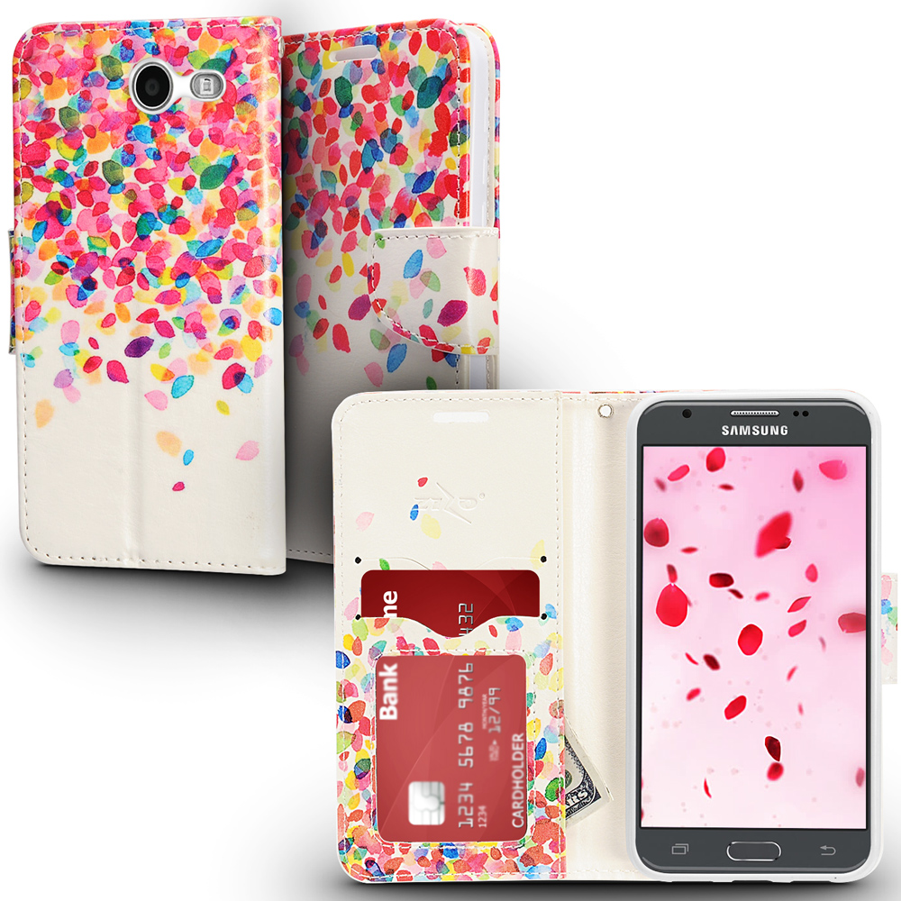 best cheap c1452 d0c22 Samsung Galaxy J3 Emerge Case, ZV Design Wallet Flap Pouch - Wallet Case w/  Heavy Duty Protection - Galaxy J3 Prime / Amp Prime 2