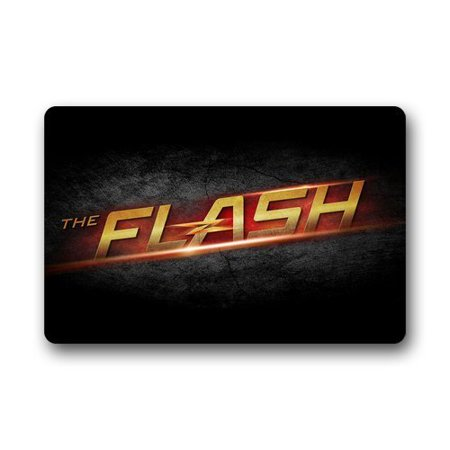 WinHome The Flash Thunder Doormat Floor Mats Rugs Outdoors/Indoor Doormat Size 30x18 (Flush Steel Door)