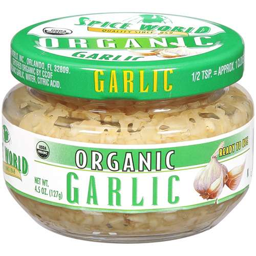 McCormick Spice World Organic Garlic, 4.5 oz