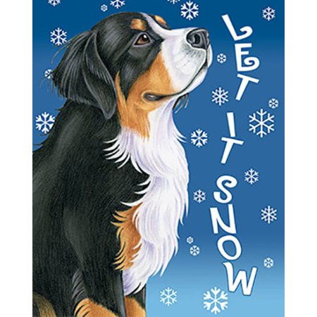 Bernese Mountain Dog - Best of Breed Let It Snow Garden