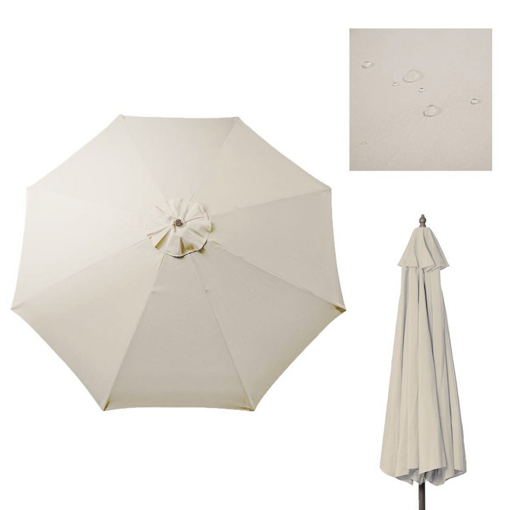 8 Feet Umbrella Replacement Canopy 8 Rib Outdoor Patio Top Cover For Patio  sc 1 st  Walmart & 8 Feet Umbrella Replacement Canopy 8 Rib Outdoor Patio Top Cover ...