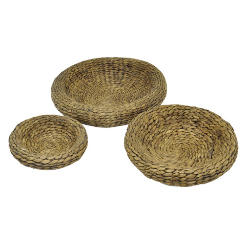 Three Hands 3 Piece Seagrass Bowl Set