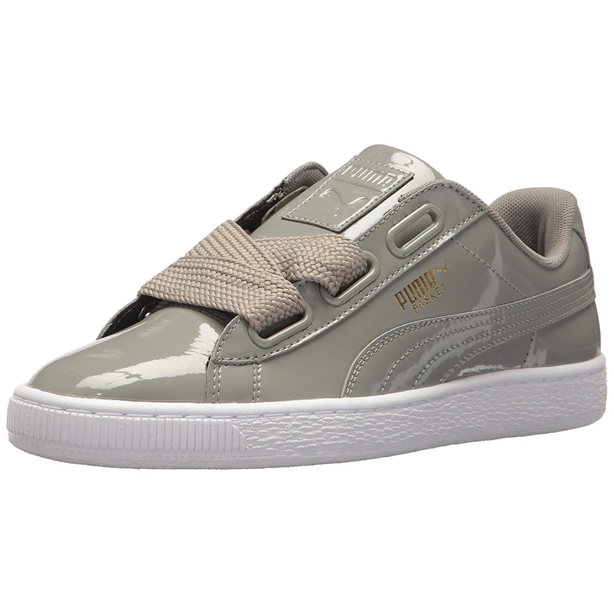 detailed look fec2f f07c7 PUMA Womens basket heart Low Top Lace Up Fashion Sneakers ...