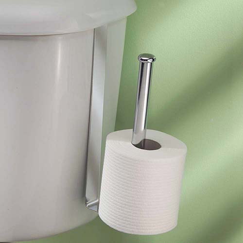 InterDesign Classico Toilet Paper Holder for Bathroom Storage ...