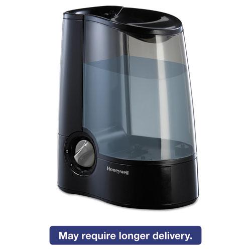 Warm Mist Humidifier, Black, 12 7/10w x 7 1/2d x 12 1/5h