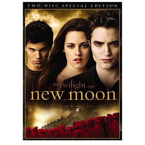 NEW MOON-TWILIGHT SAGA 2 DISC DVD