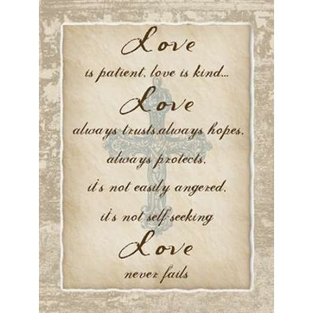 Patient Love Poster Print by Sheldon Lewis