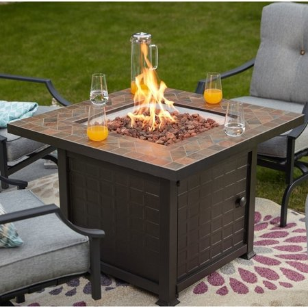 Miraculous Patio Festival Outdoor 50000 Btu Propane Fire Pit Table With Lava Stone Unemploymentrelief Wooden Chair Designs For Living Room Unemploymentrelieforg