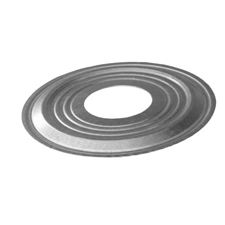"""DuraVent 5GVPC 5"""" Inner Diameter - Type B Round Gas Vent Pipe - Double Wall - Decorative Pipe Collar"""