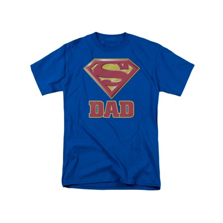 Superman DC Comics Super Dad Adult T-Shirt Tee - Jesus Superman Shirt