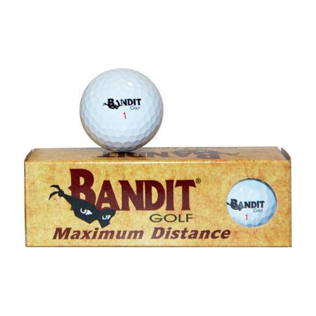 Bandit Maximum Distance Non-Conforming Golf Balls - 3ct