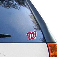 """WinCraft Washington Nationals 4"""" x 4"""" Color Perfect Cut Decal - Navy Blue/Red - No Size"""