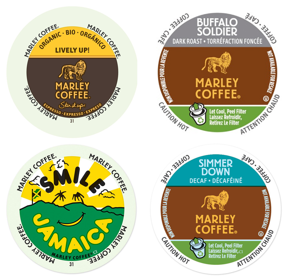 Marley Coffee Bobs Hits Collection, Coffees That Will Instantly Hit the Right Note Every Single Time, 96 Count