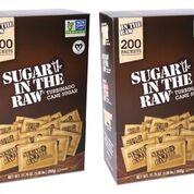 4-Pack Sugar In The Raw Turbinado Cane Sugar, Pack Contains 800-4.5g packets