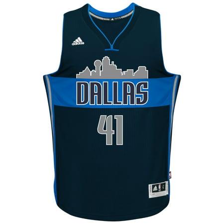 Dirk Nowitzki Dallas Mavericks Adidas Alternate Swingman Jersey (Navy) by