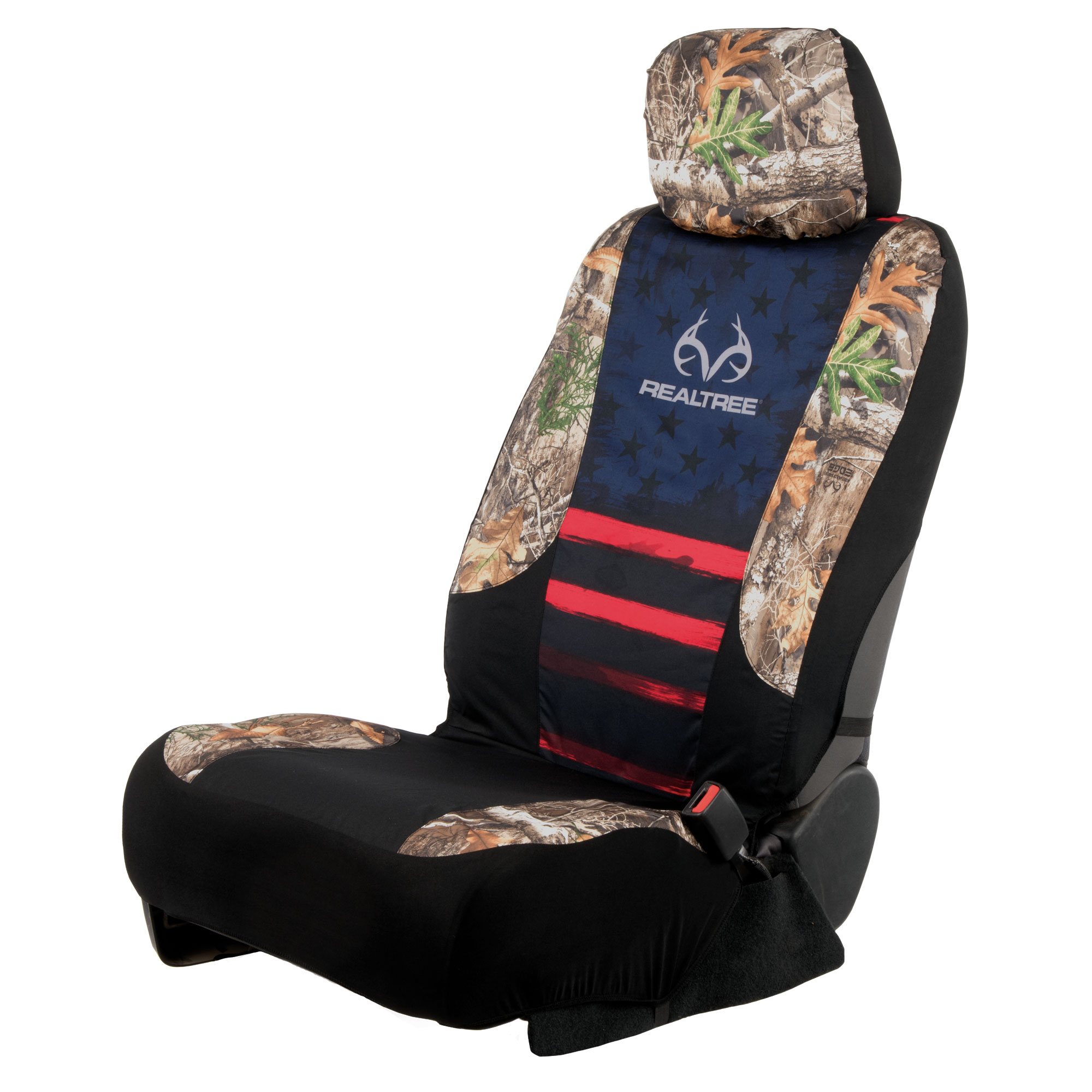 Realtree Seat Cover Low Back RT Edge Americana