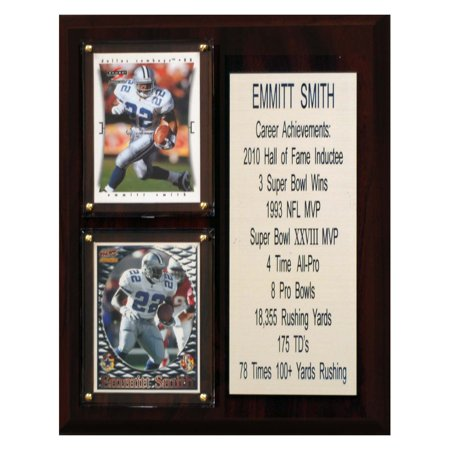 C&I Collectables NFL 8x10 Emmitt Smith Dallas Cowboys Career Stat Plaque