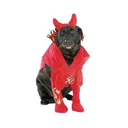 Rubies Devil'd Lil Devil Dog Halloween Costume, Medium - Devil Dog Halloween Costume