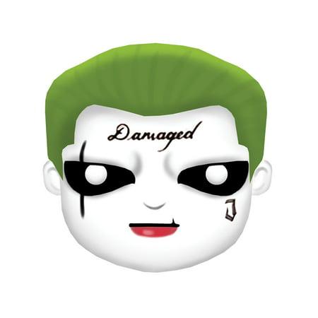 Suicide Squad Joker Mask Halloween Costume Accessory